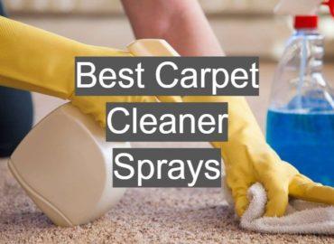 Best Carpet Cleaner Sprays