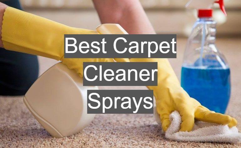 10 Best Carpet Cleaner Sprays