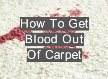 Removing Blood From Carpet Image