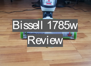 bissell crosswave 1785w review